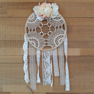 Vintage Lace & Posie Dream Catcher - Harlow