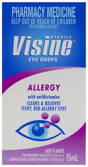 Visine Allergy Eye Drops 15mL