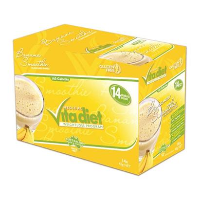 VITA DIET Banana Shakes 14sach