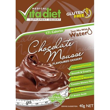VITA DIET Chocolate Mousse Single