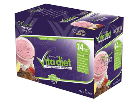Vita diet  Mixed Weekly Shakes