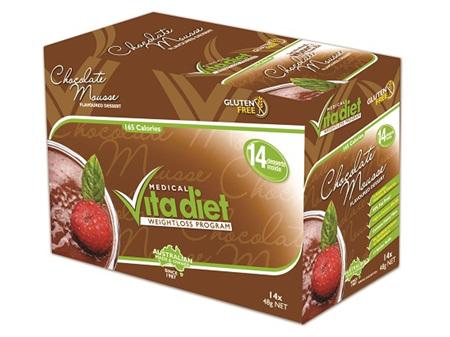 VITA DIET - SALE! ,Chocolate Mousse 14 sachets