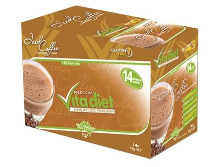 VITA DIET - SALE! ,Iced Coffee Shakes 14 sachets