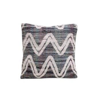 Vivaan Cushion - Printed Denim 45x45cm
