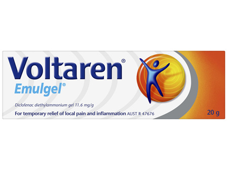 Voltaren Emulgel, Muscle and Back Pain Relief 20 g