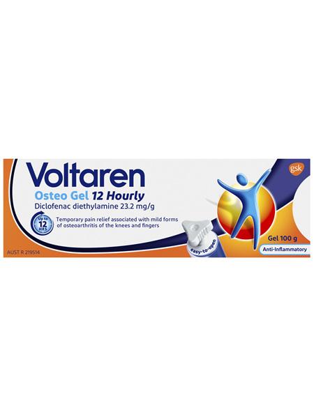 Voltaren Osteo Gel 12 hourly 100g