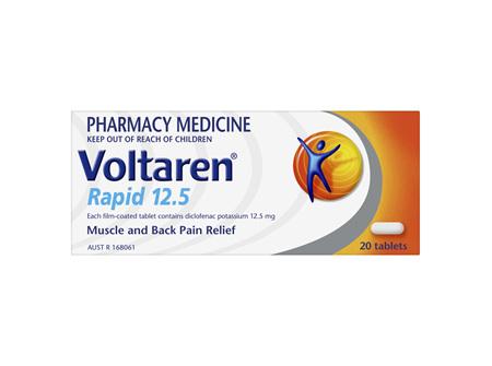 Voltaren Rapid 12.5 Tablet 20's