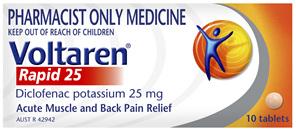Voltaren Rapid Pain Relief Tablets 10 pack