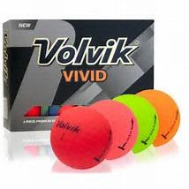 Volvic Vivid Golf Balls - Dozen