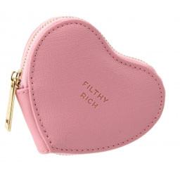 W&R Pink Heart Coin Purse