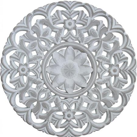 Wall Decor Mandala - Grey Large