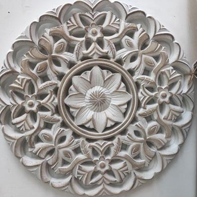 Wall Decor Mandala W/W Small