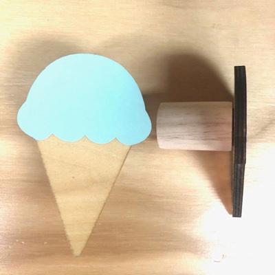 Wall Hook Ice Cream - Mint