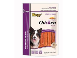 WANPY CHICKEN BAR DOG TREAT 100G BAG