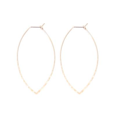 Warner Earrings - Rose Gold