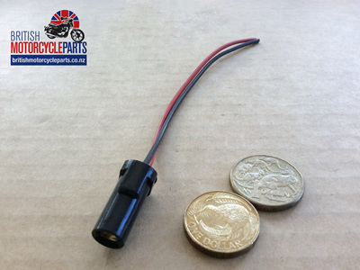 Warning Light Bulb Holder & Wires - PB3