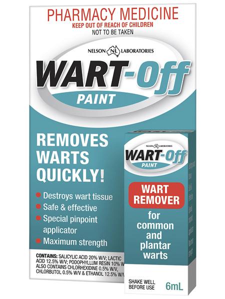 Wart Off Paint