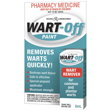 Wart Off Paint 6mL