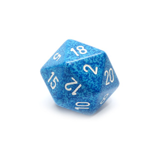Water' Large Twenty Sided Dice