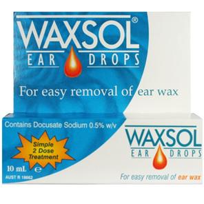 Waxsol Ear Drops 10ml