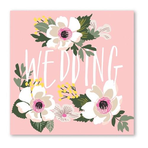 Wedding Flowers Card