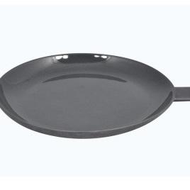 Wedge Handle Plate Black Ceramic