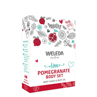 WEL Love Pomegranate Body Set