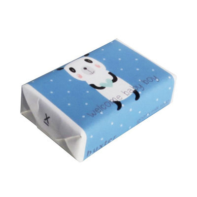 Welcome Baby Boy' Wrapped Soap - Goat's Milk