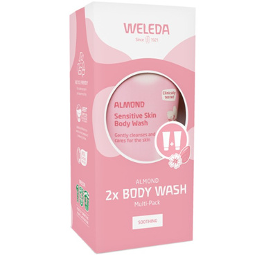 WELEDA Almond Body Wash Multi-Pack