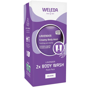 WELEDA Lavender Body Wash Multi-Pack