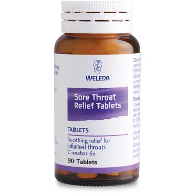 WELEDA Sore Throat Relief Tabs 90