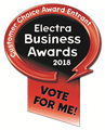 We've entered the Electra Customer Choice Awards