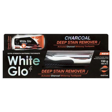 WHITE GLO Deep Stain Remover 150g
