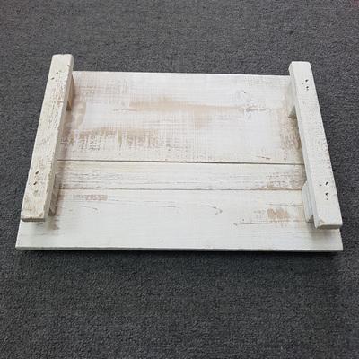 White Wash Tray Large
