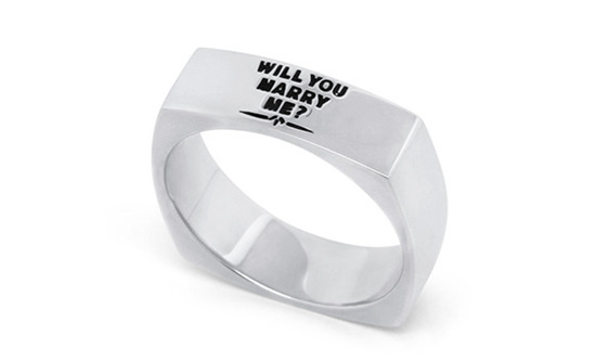 Wilshi Metro Proposal and temporary engagement ring for Men