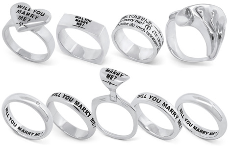Wilshi the proposal ring collection