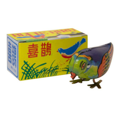 Wind Up Tin Retro Bird