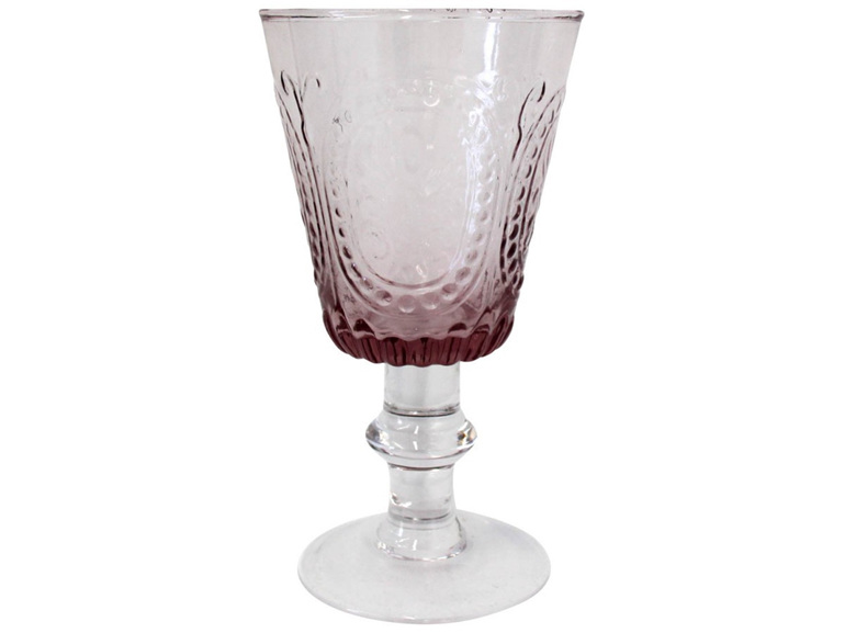 Wine Glass Capri Pink