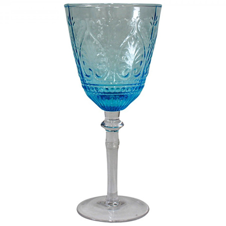 Wine Glass Carribean Sky