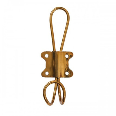 Wire Hook Brass