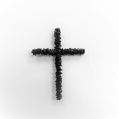 Wire Woven Cross