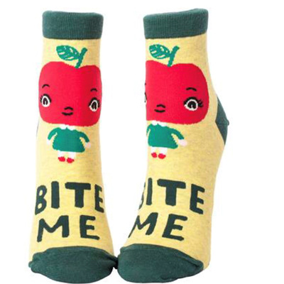 Womens Ankle Socks - Bite Me