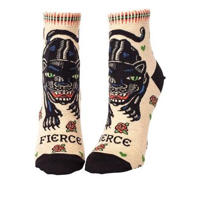 Womens Ankle Socks - Fierce