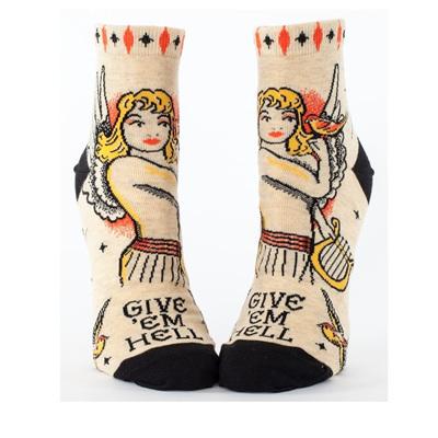 Womens Ankle Socks - Give Em Hell