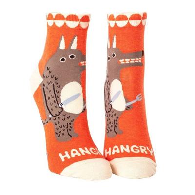 Womens Ankle Socks - Hangry
