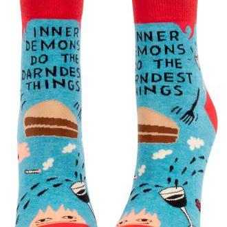 Womens Ankle Socks - Inner Demons