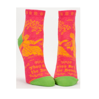 Womens Ankle Socks - Thou Art The Bomb