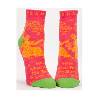 Womens Ankle Socks - Thou Art The Bomb