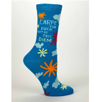 Women's Socks - Carpe Diem