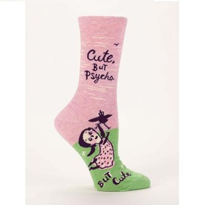 Women's Socks - Cute But Psycho